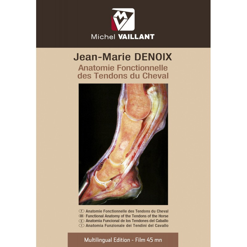 DVD Functional anatomy of the tendon of the horses