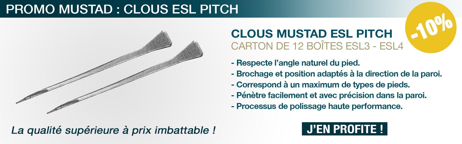 Materiel marechalerie - Clous - Mustad - Pitch - ferrer - ferrage